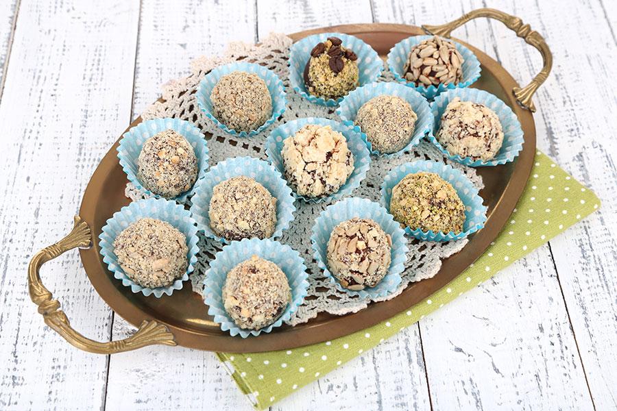 Gluten Free Brownie Balls