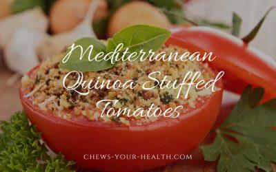 Mediterranean Quinoa Stuffed Tomatoes